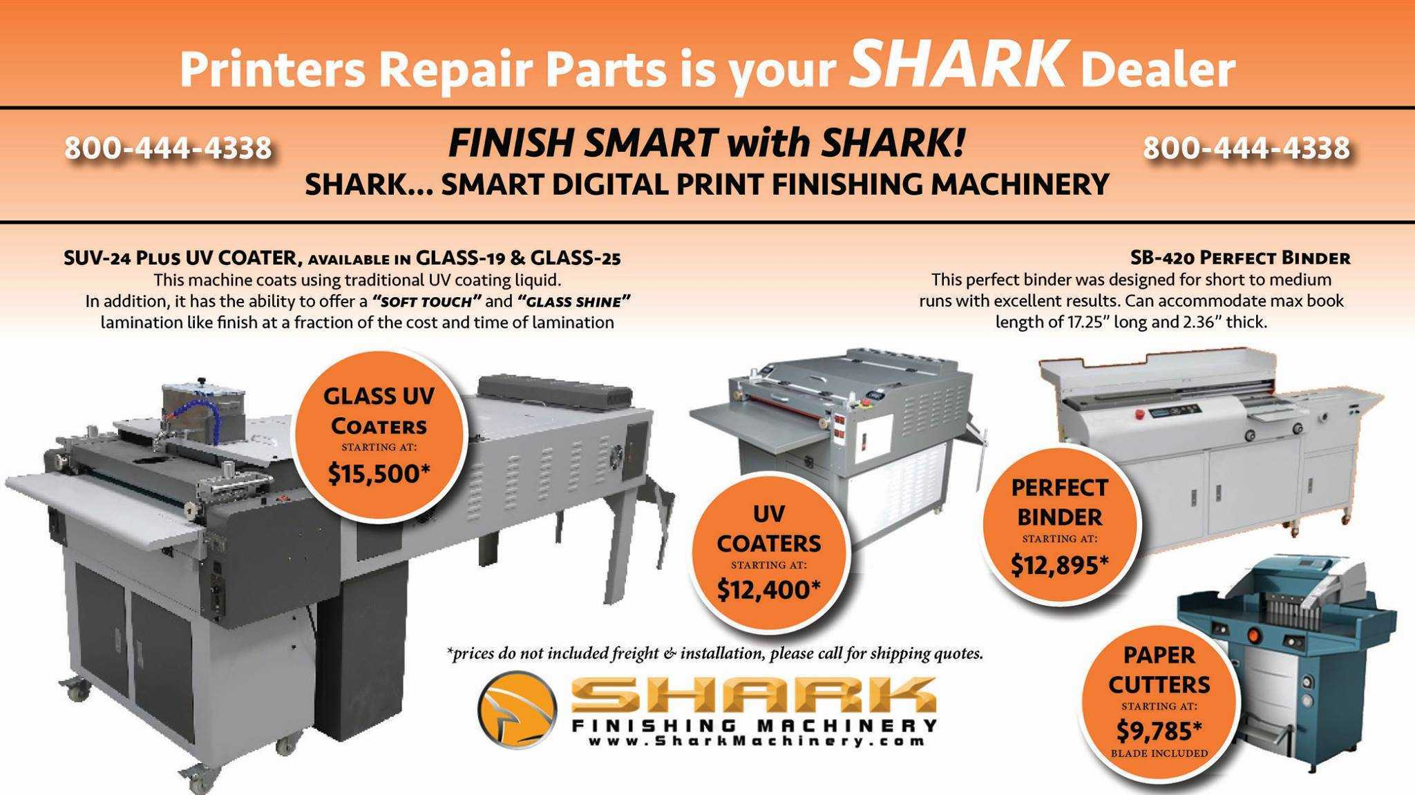Let us help you get to the finish line faster with Shark™ Finishing  Equipment. Duroweave. Full Press Release Here