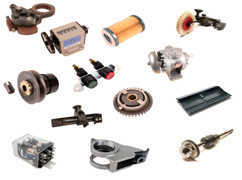 Sample parts assortment